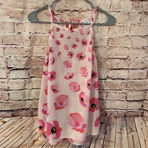 Pink Floral Cabi Tank - Small
